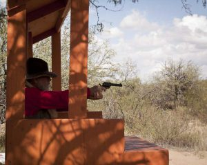 Shooting at Tombstone Monument Ranch